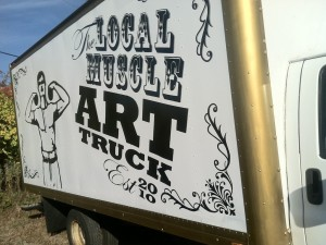 truck exterior